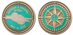 Briggs wedding coin