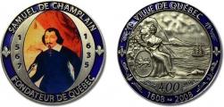 Champlain Memorial Medal