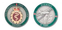23 CF H Svc C Commanding Officer f&b