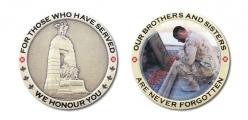 PPCLI Memorial coin 2015 f&b