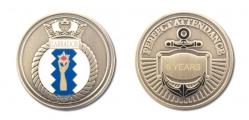 Labrador Sea Cadet Attendance silver f&b