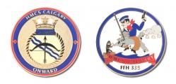 HMCS Calgary ship coin f&b