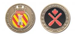 HMCS Quadra Staff Cadet Coin f&b