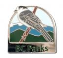 BC Parks Whiskey Jack pin