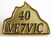 VE7VIC - Amateur Radio Pin