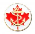 Navy Fan Pin