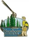 Strathcona Provincial Park Zipper Pull
