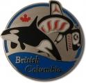 BC Orca Pin