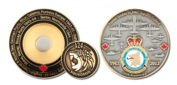424 Squadron (coin and Ball Marker)
